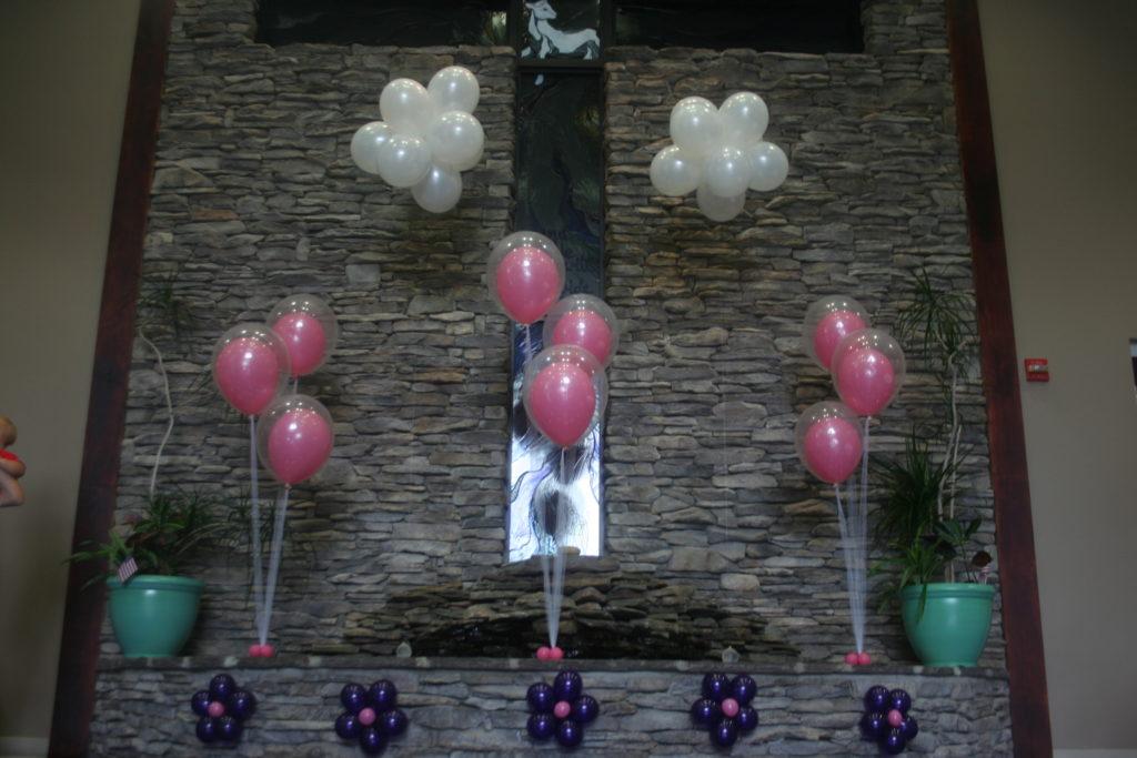 Balloon centerpiece decorations made ya look balloons